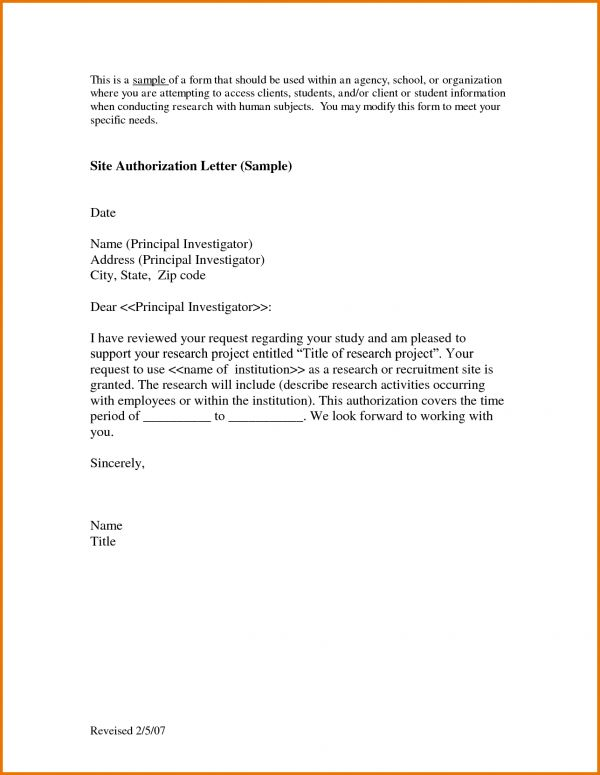 Letter Of Authorization Sample.28303113.png | Scope Of Work Template