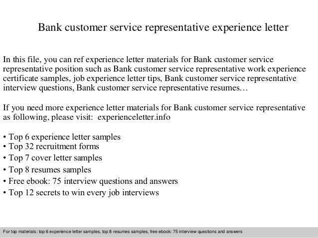 bank-customer-service-representative-experience -letter-1-638.jpg?cb=1409833298