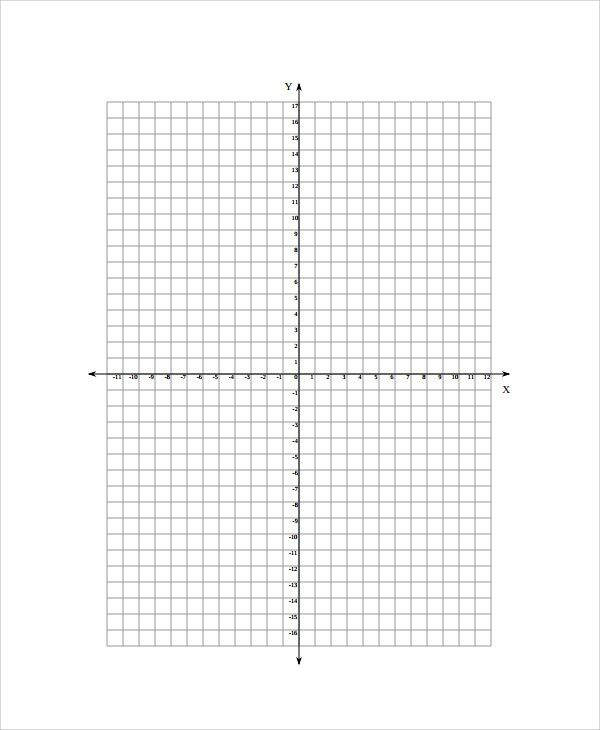 Cartesian Graph Paper. Excel : 20X20 Graph Paper Online Math ...
