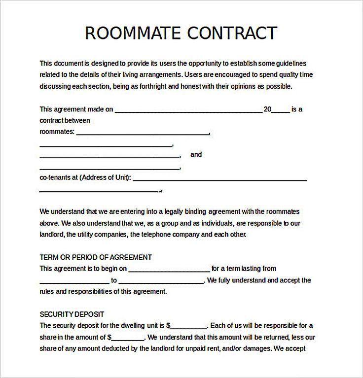 Best 10+ Roommate agreement ideas on Pinterest | College roommate ...