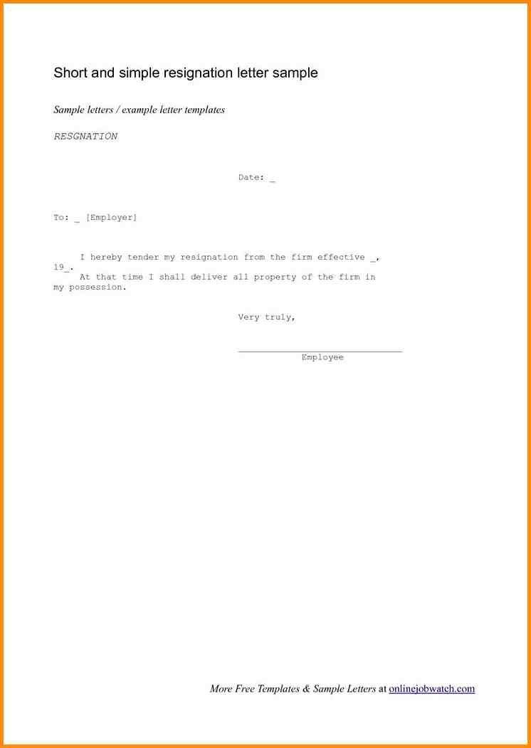 10+ short letter of resignation | workout spreadsheet