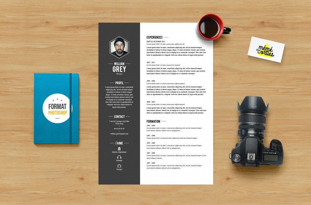 Find the Best Photoshop Resume Template Here!