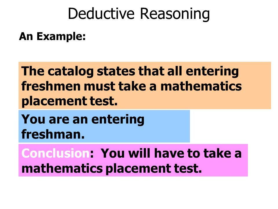 A Closer Look at Inductive vs. Deductive Reasoning - ppt video ...