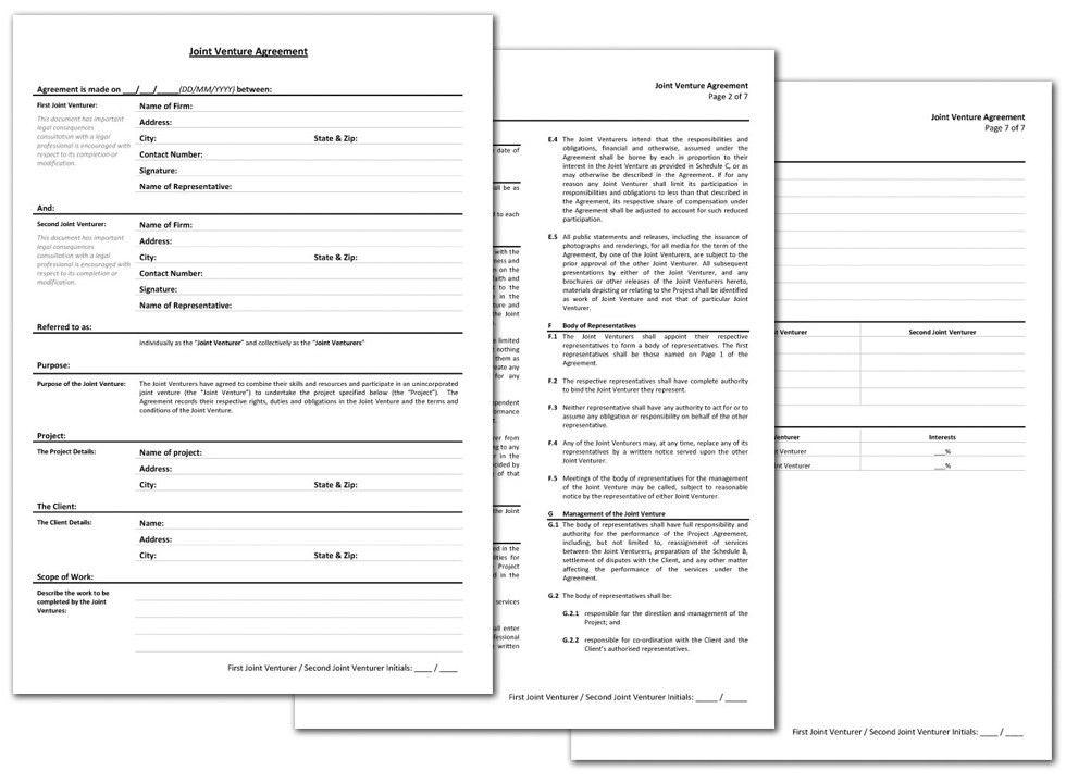 Joint Venture Agreement | BTM+C