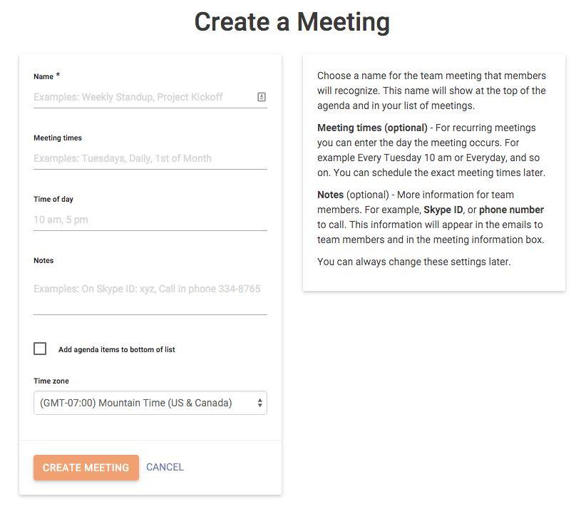 Simple Team Meeting - Productive Online Meetings