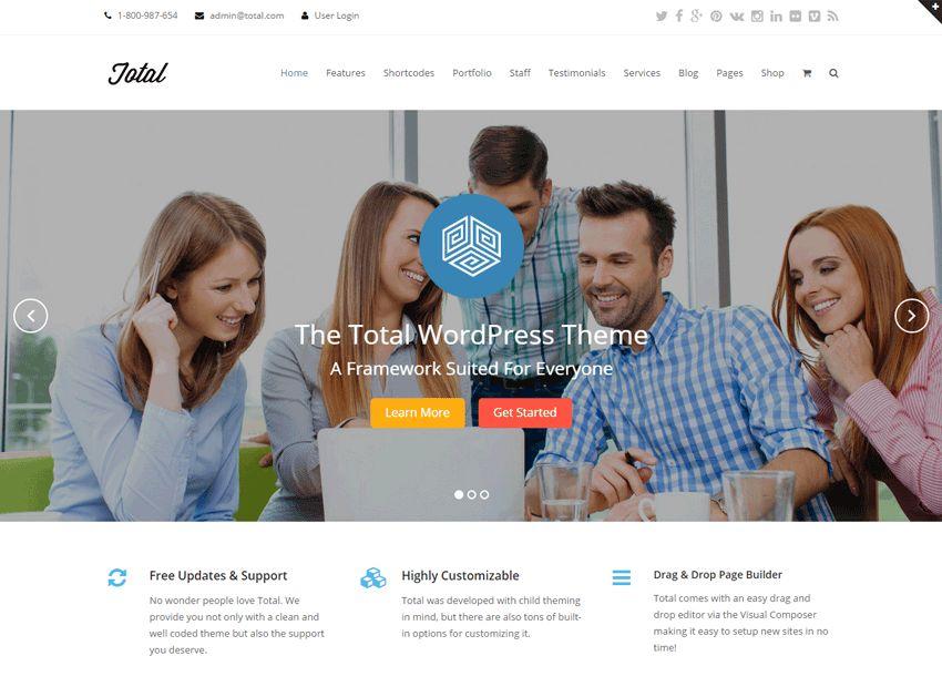 20+ Best WordPress Business Themes 2017 - WPExplorer