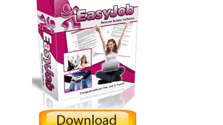 Resume Builder | EasyJob FREE Resume Builder Program Demo | The ...