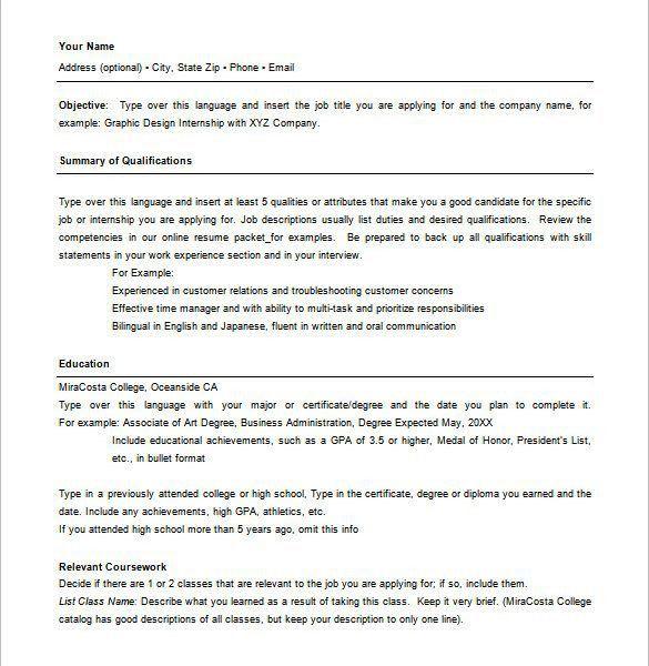 Prissy Inspiration Hybrid Resume Template 11 Combination 10 Free ...