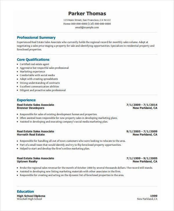 resume templates sales associate unforgettable sales associate