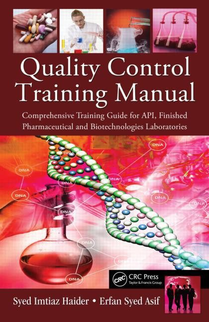 Quality Control Training Manual: Comprehensive Training Guide for ...