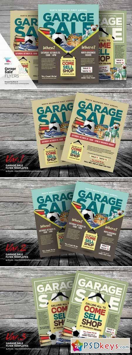 Garage Sale Flyer Templates 409703 » Free Download Photoshop ...