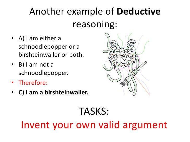 Introdutory presentation on Reason for Tok
