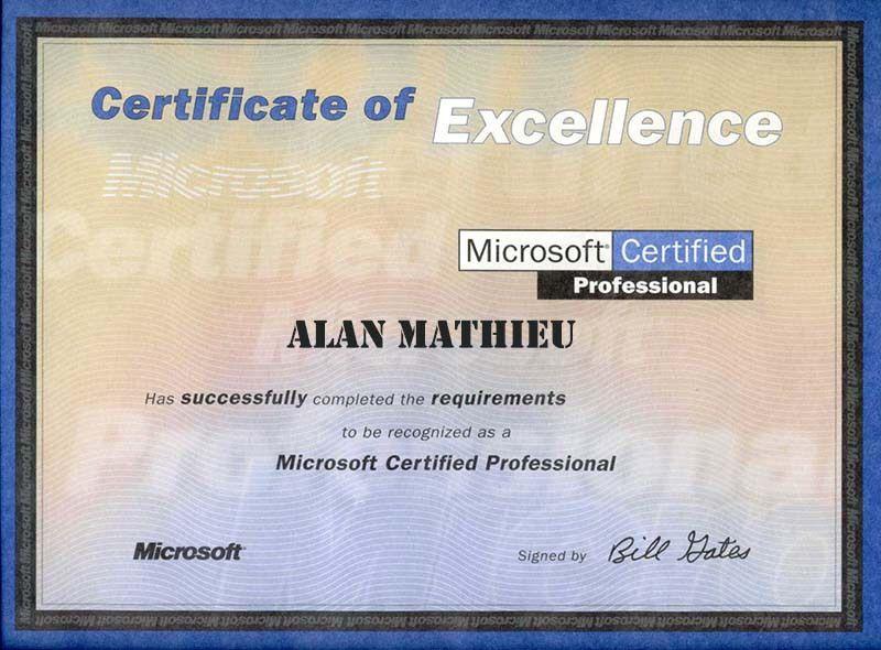 Microsoft Certified Professional | Turbo Techs