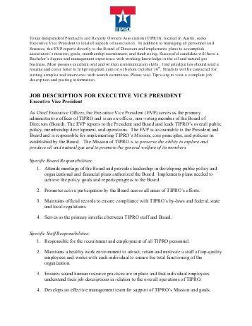 President Job Description. Pediatrician Doctor Job Description Pdf ...
