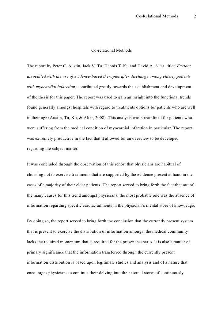 Perfectessay.net research paper sample #3 apa style