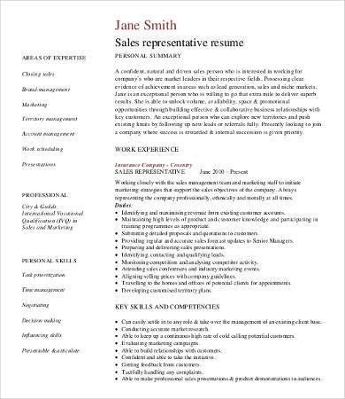 Professional Resume Samples - 9+ Free Word, PDF Documents Download ...