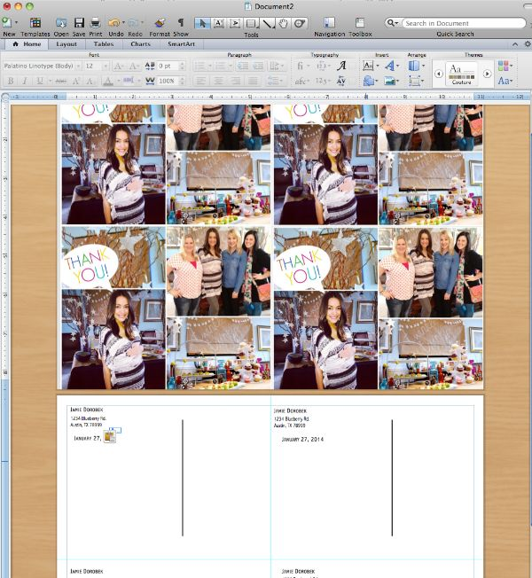 How to make postcards in Microsoft Word - C.R.A.F.T.