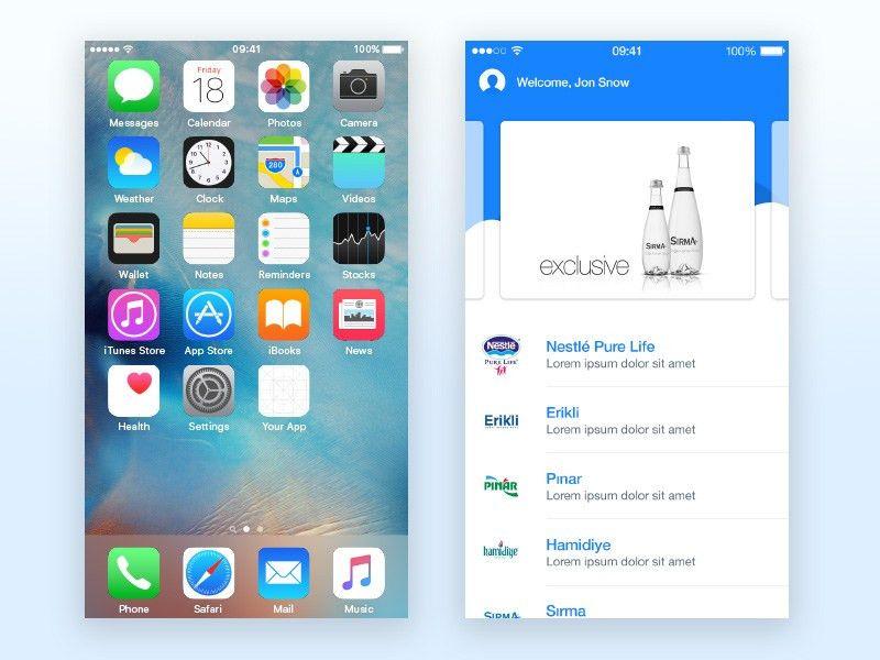 App Zoom Framer Template Sketch freebie - Download free resource ...