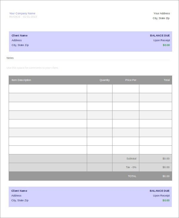 Travel Agency Invoice Template - 5+ Free Word, PDF Documents ...