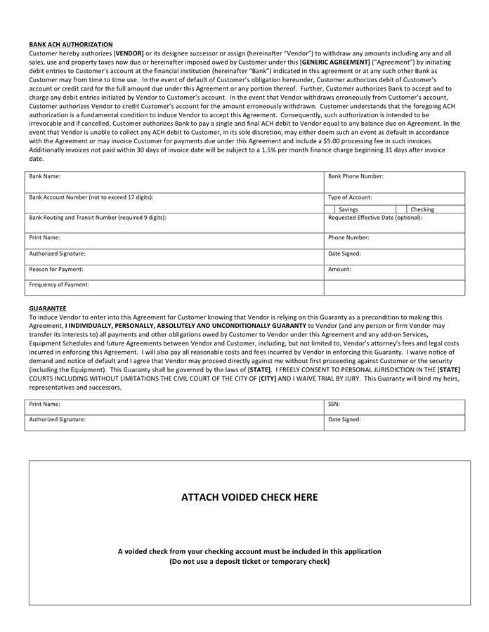 Ach Form Template | Template Design