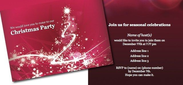 Invitation - Christmas party • iStudio Publisher • Page Layout ...