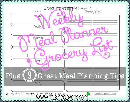 Best 25+ Grocery list templates ideas on Pinterest | Free ...