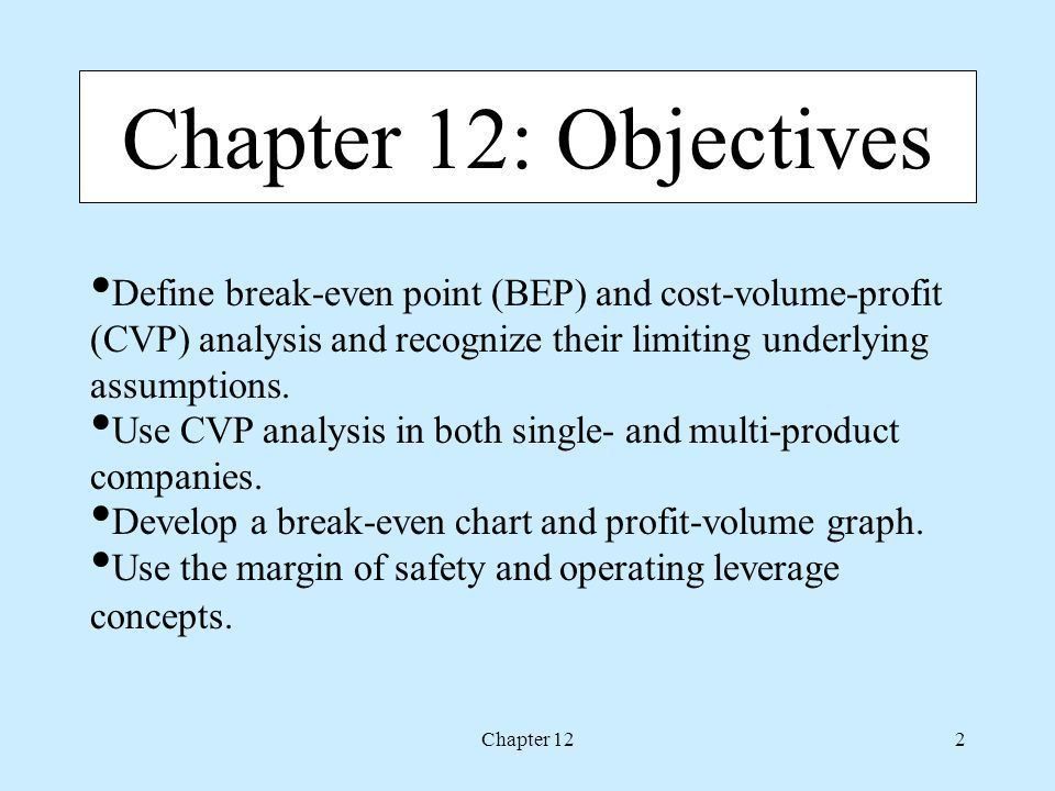 Define Breakeven Analysis 48 | Jobs.billybullock.us