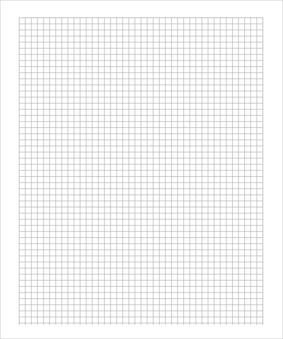 Free Graph Paper Template U2013 8+ Free PDF Documents Download! | Free .