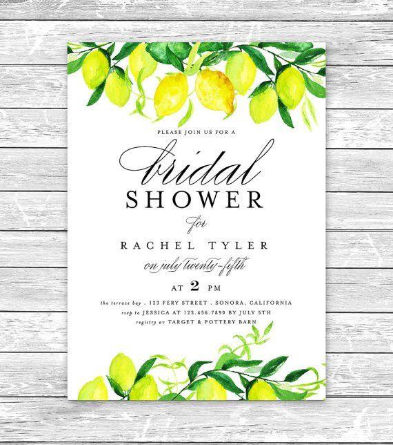Printable Bridal Shower Invitation/Bridal by AffordableDIYWedding ...