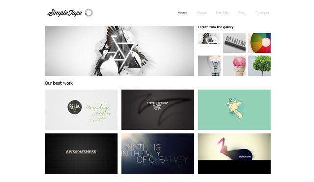 5 Free Website Design Templates | Web & Graphic Design | Bashooka