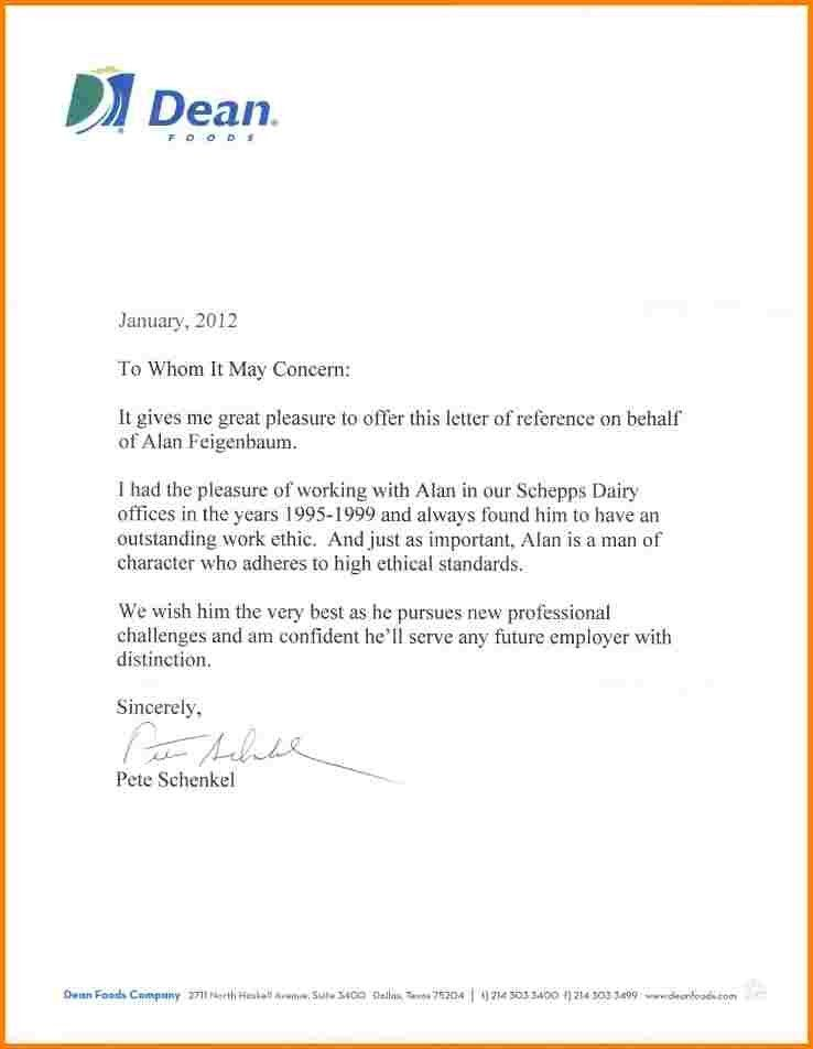 10+ letter of recommendation from employer | quote templates