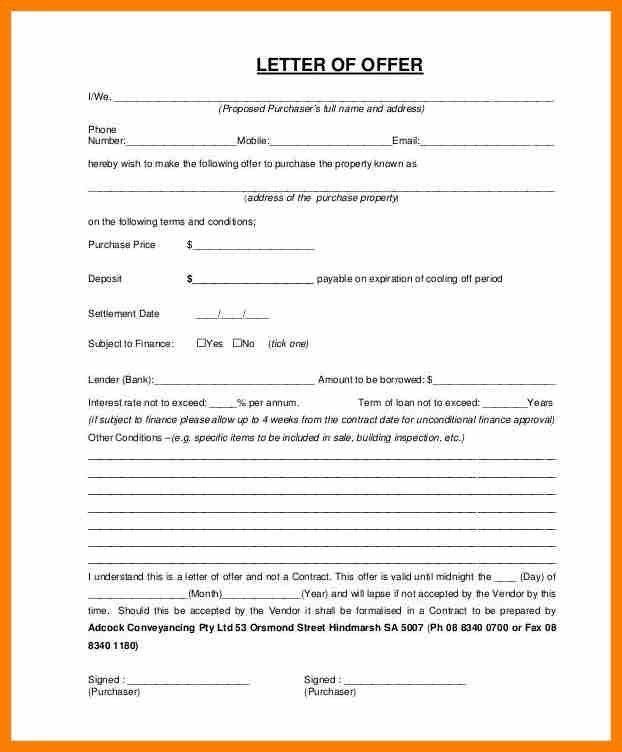 7+ house offer letter template | sephora resume