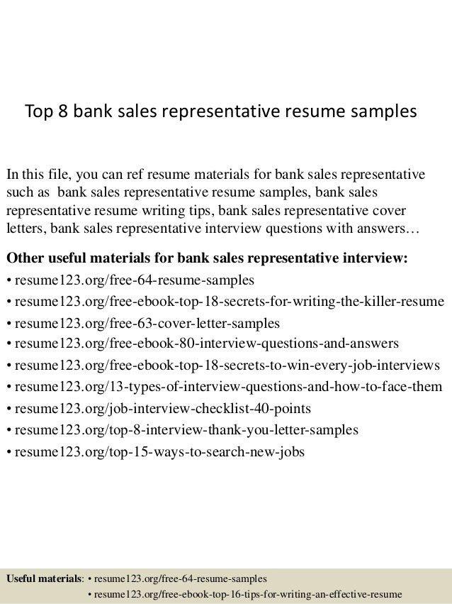 Sales Representative Sample Resume Unforgettable Outside Sales