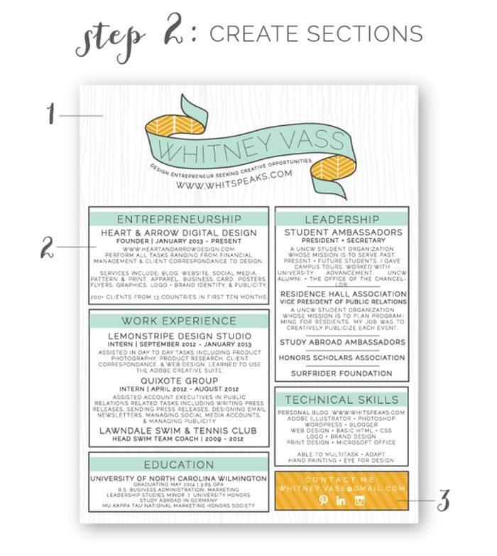 Homey Idea Eye Catching Resume Templates 9 22 Free Creative Resume ...