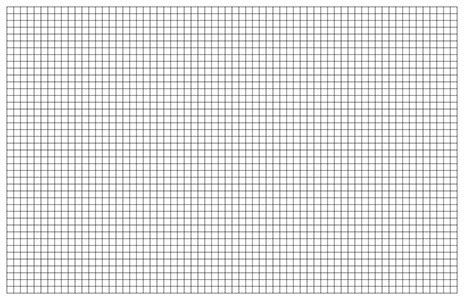 Graph Paper Template, 11x17 Tabloid Printable PDF