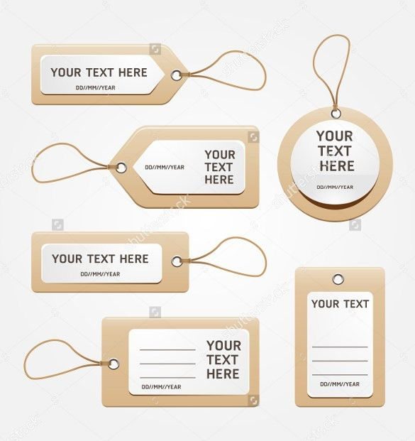 24+ Favor Tag Templates – Free Sample, Example Format Download ...