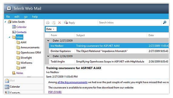 Sample ASP.NET Applications - Telerik UI for ASP.NET AJAX - Telerik