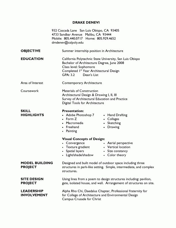 Extravagant How To Write A Student Resume 4 Sample Student Resumes ...