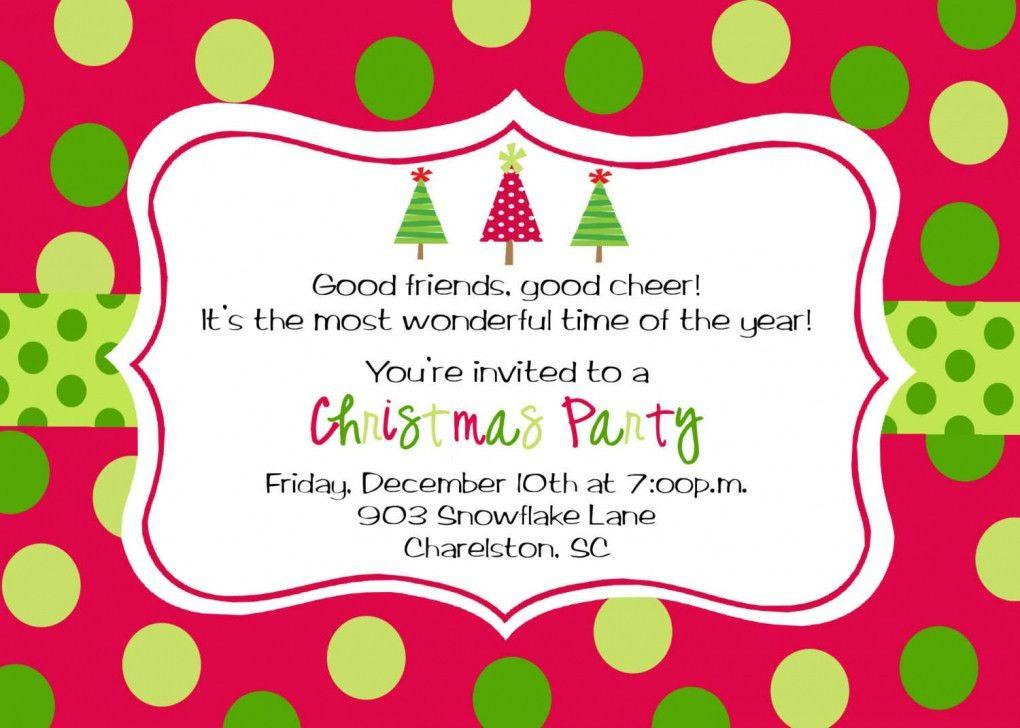 Free Party Invitation Template | badbrya.com