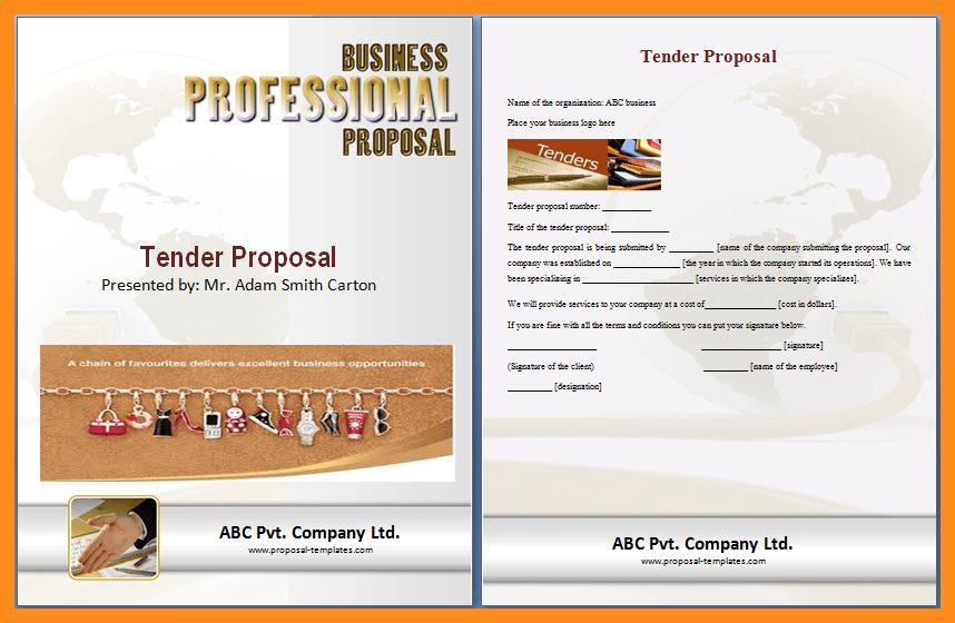 11+ tender proposal sample | resume setups