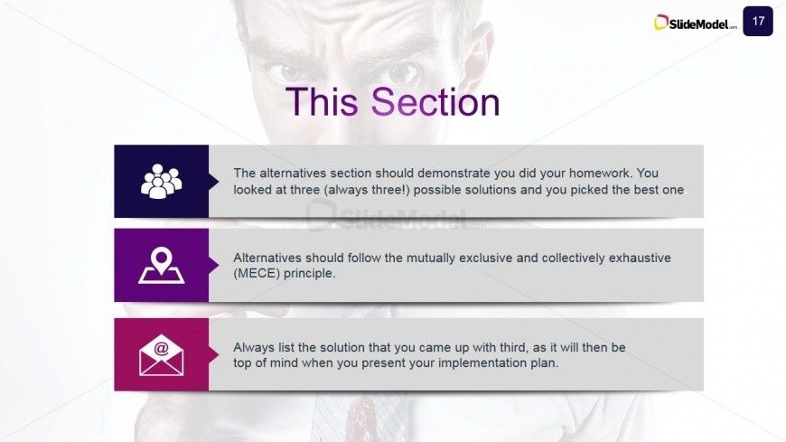 Case Study Business Alternative Options - SlideModel