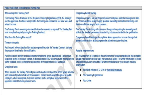 13+ Training Strategy Templates – Free Sample, Example, Format ...