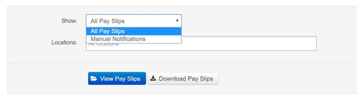 Pay Slips - Sending Pay Slip Notifications – Payroll Support