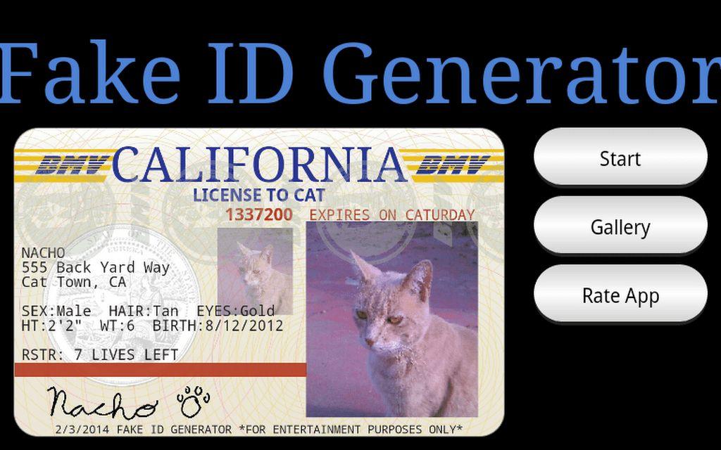 Download Fake ID Generator Free APK File