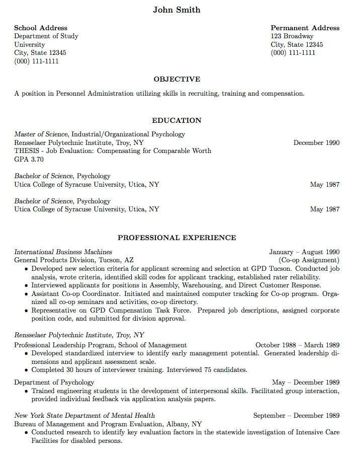 Curriculum Vitae Resume Template 2016 | jennywashere.com