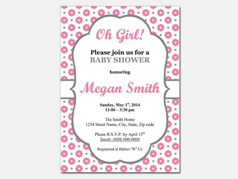Free Baby Shower Invitation Templates | Baby Shower Invitations