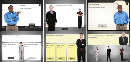 Articulate Storyline Characters, Games, and Templates | eLearning ...