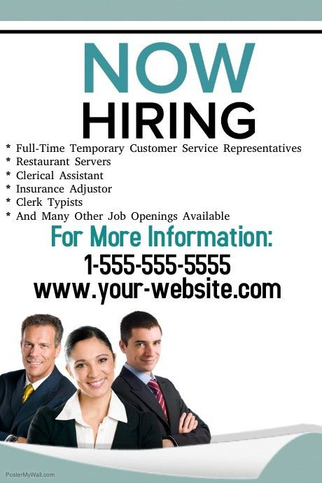 Flyers For Flyer Get Hired | www.gooflyers.com
