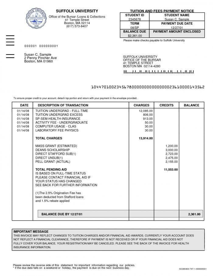 law firm invoice template | Free Invoice