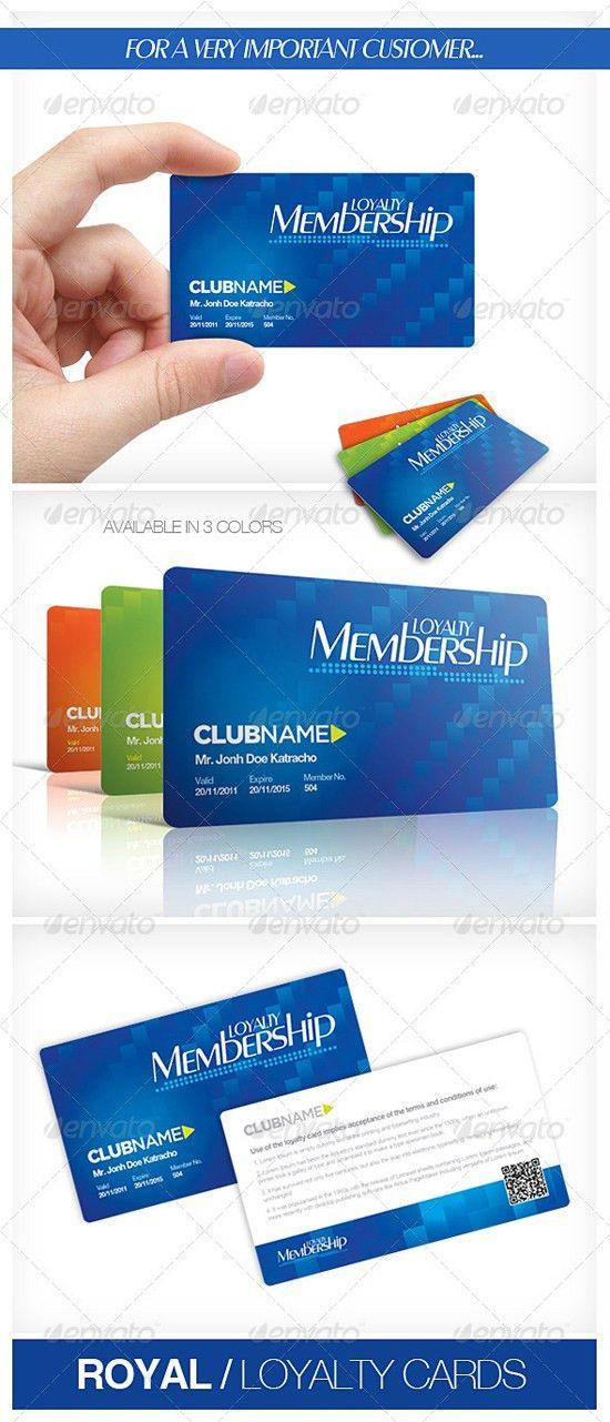 Top 10 Photoshop PSD Loyalty Card Templates